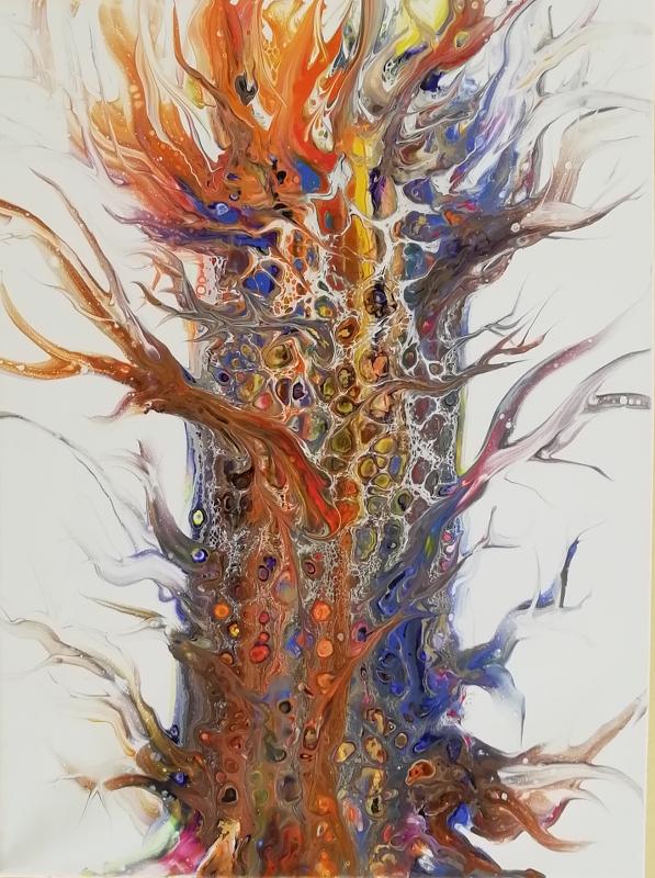 Feuerbaum 40x50