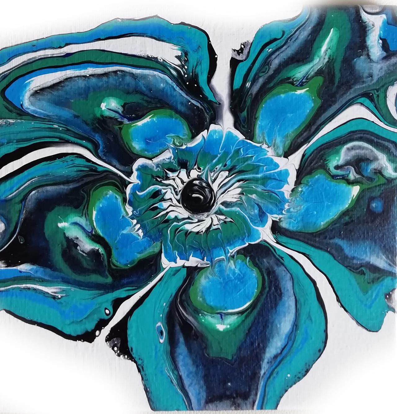 Zu verkaufen 032_20x20cm Blume